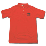 Men's UTLA Red Three Button Polo Shirt