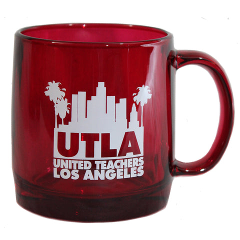 UTLA Glass Coffee Mug