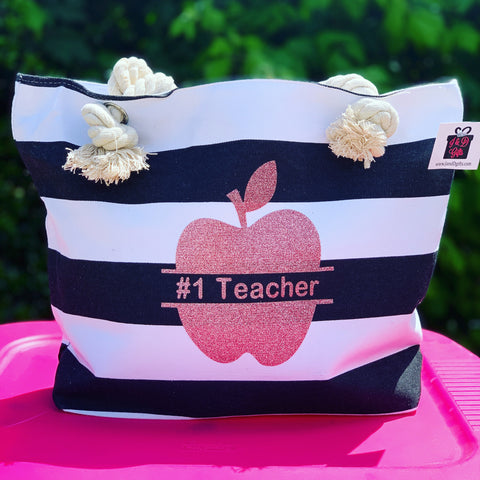 Teacher Appreciation Tote - J and D Gifts