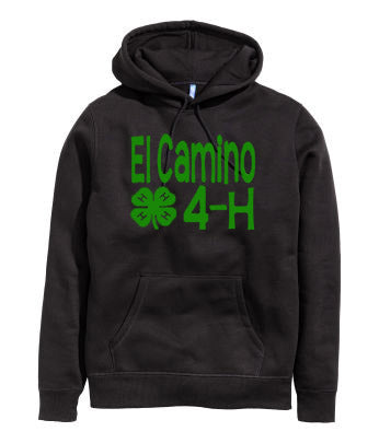 4H Youth or Adult Hoodie NO Name - J and D Gifts