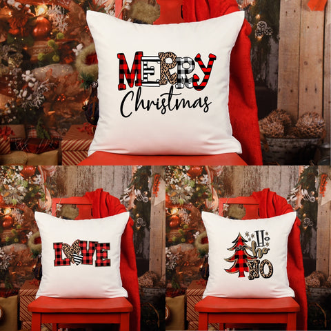 Christmas Throw Pillow Cases