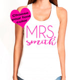 Mrs. Tank Top 2 - J and D Gifts