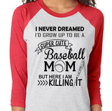 Killing it- Baseball Shirt - J and D Gifts