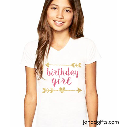 Birthday Girl Shirt or Onesie - J and D Gifts