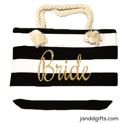 Bride Canvas Tote - J and D Gifts