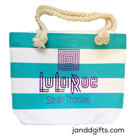 Lularoe canvas tote bag