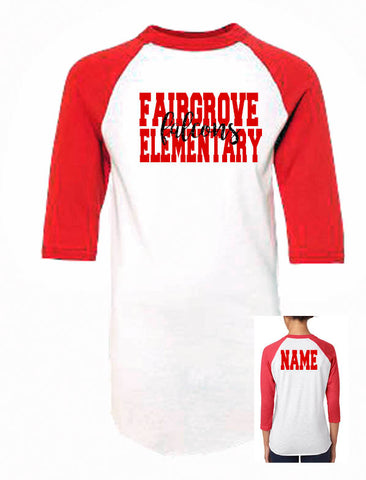 Fairgrove School Spirit Shirt- YOUTH - J and D Gifts