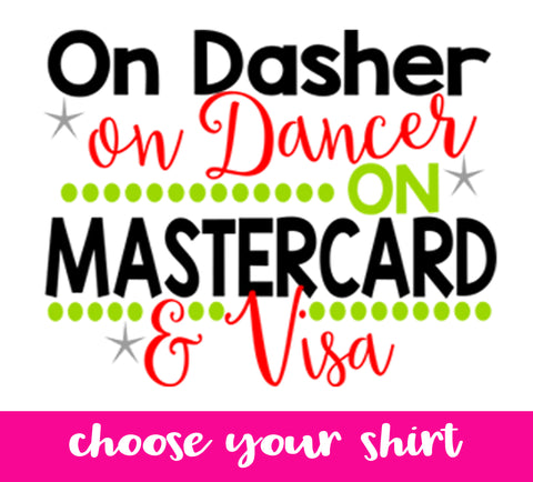 On MasterCard and Visa- Choose your top! - J and D Gifts