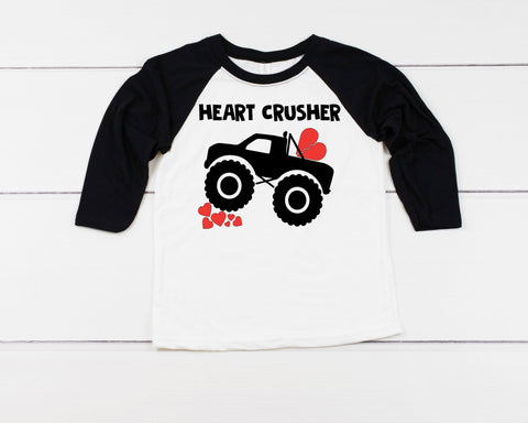 Heart Crusher Baseball Tee - J and D Gifts