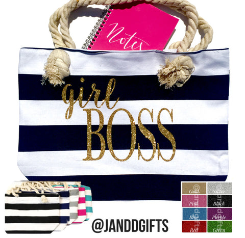 Girl Boss Tote Bag - J and D Gifts