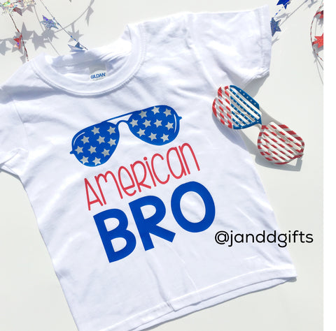 American Bro Shirt or Onesie - J and D Gifts
