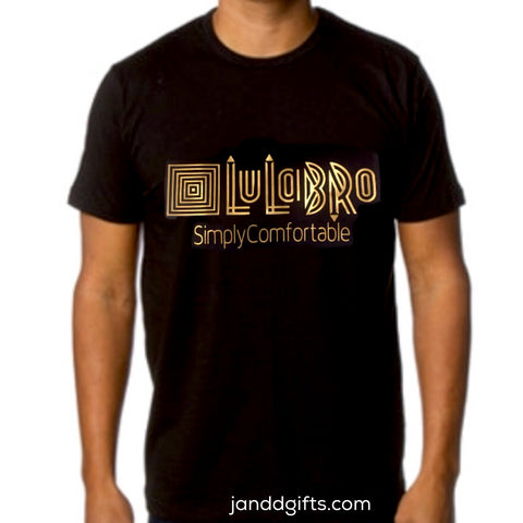 lulabro black t shirt