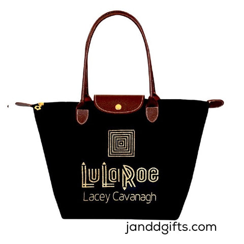 QUANTITY Discount 4+ LuLaRoe Nylon Tote with Name