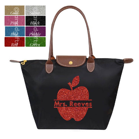 SALE Nylon Teacher Appreciation Tote - J and D Gifts