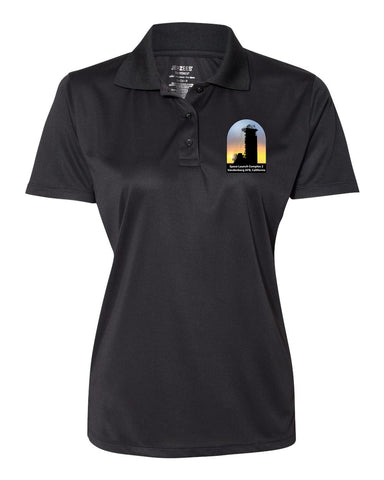 Delta II: Women's Sporty Polo- 100% Poly - J and D Gifts