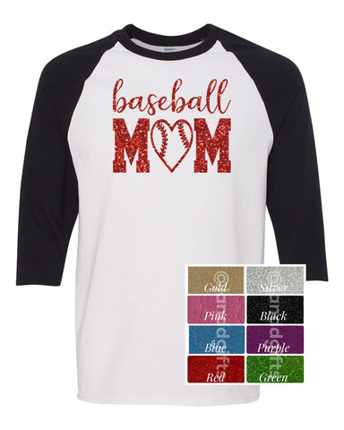 Baseball Mom- Baseball Shirt - J and D Gifts