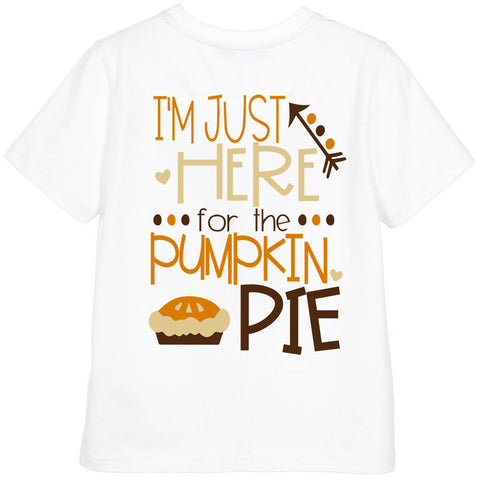 I'm just here for the Pie Shirt or Onesie - J and D Gifts
