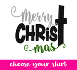 Merry CHRISTmas- Choose your top! - J and D Gifts