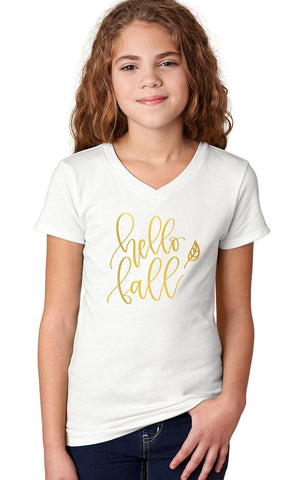 Hello Fall Shirt or Onesie - J and D Gifts