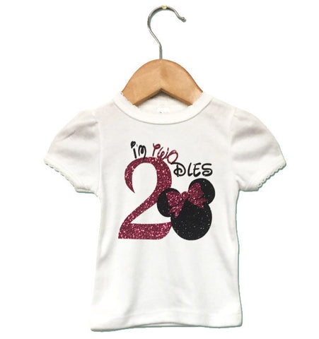 I'm TWOdles Girl Shirt or Onesie - J and D Gifts