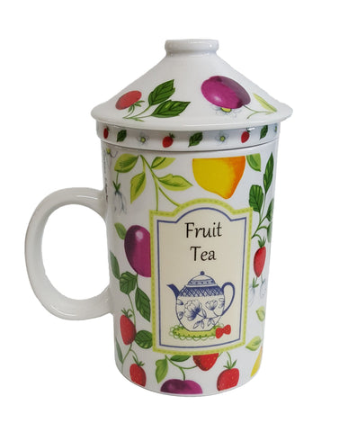 Fruit Tea Mug with Infuser