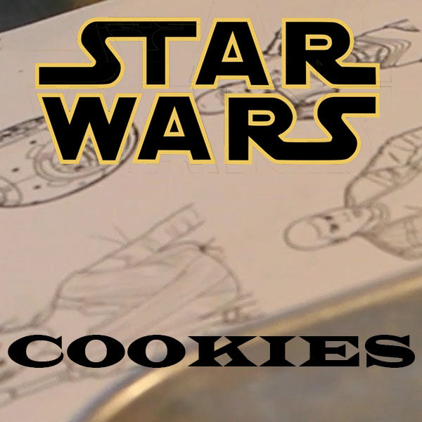 Bake Along - Star Wars Cookies for Star Wars Day - May the 4th Be With you!