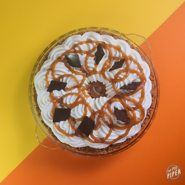 Banoffee Cream Deep Dish Pie (GF)