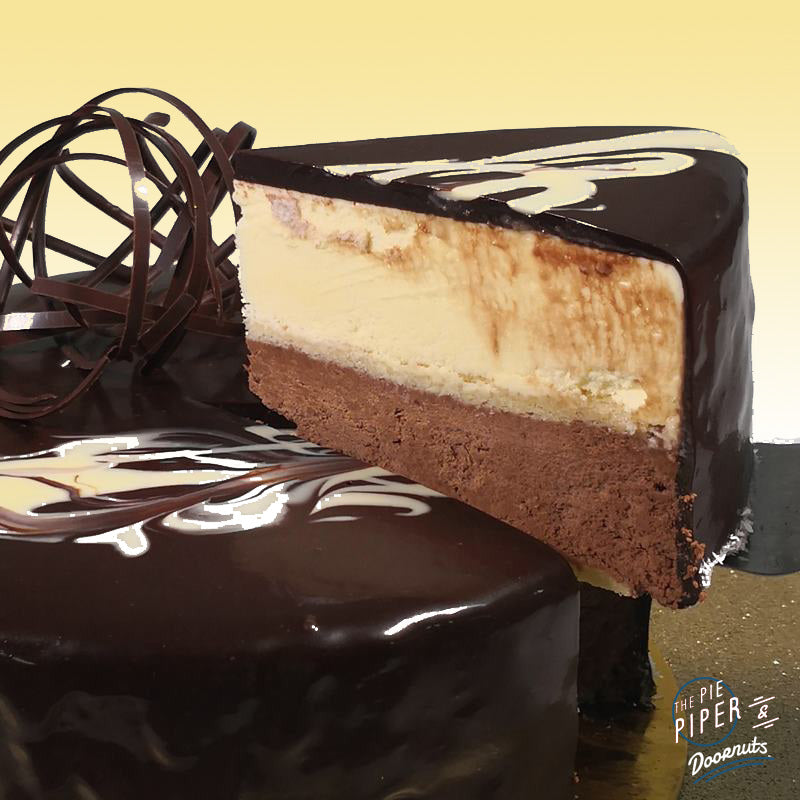 Black and White Mousse Cake (GF)