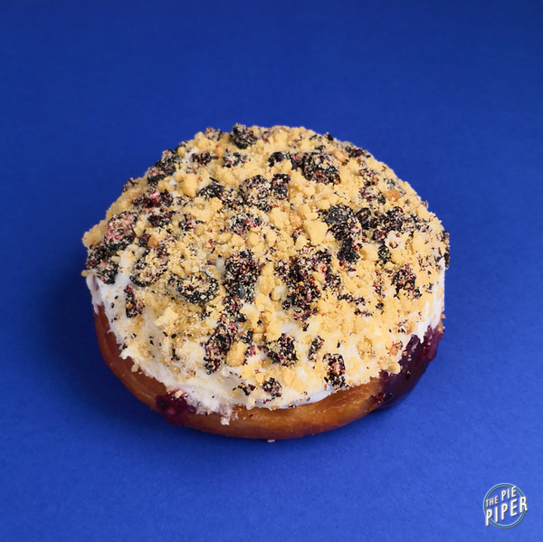 Blueberry Crumble Berliner (V)