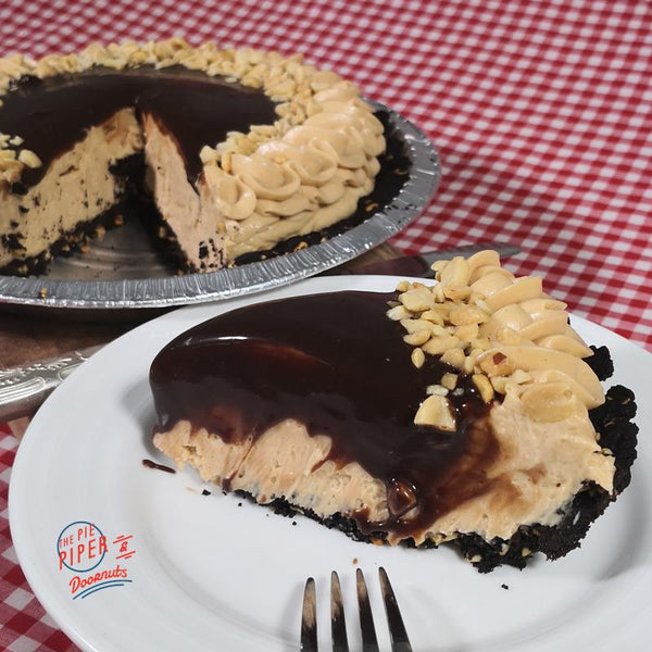 Chocolate Peanut Butter Pie (V)