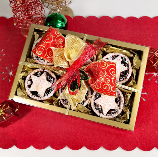 Christmas Fruit Mince Pies 6-Pack