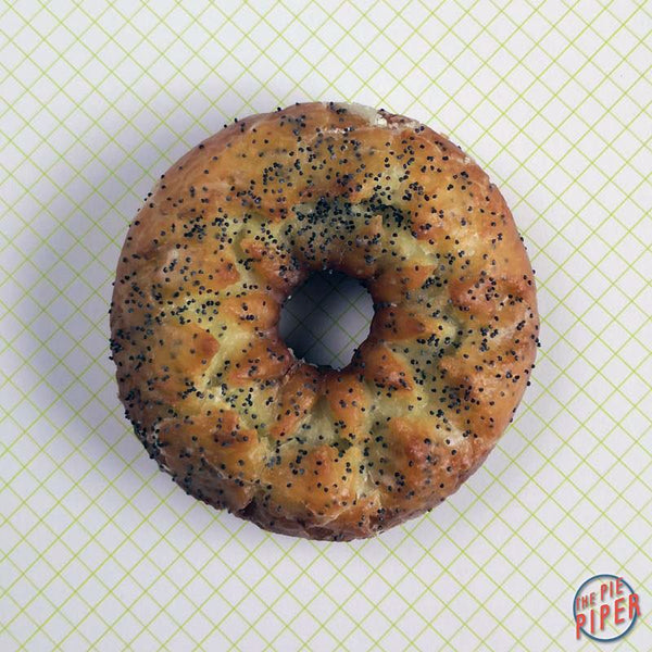 Lemon Poppy Seed Old Fashioned Cake Donut
