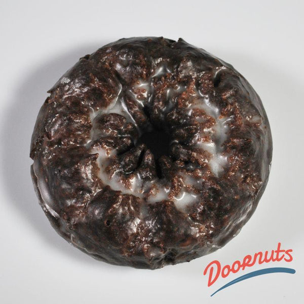 The_Pie_Piper Chocolate Old Fashioned Cake Donut