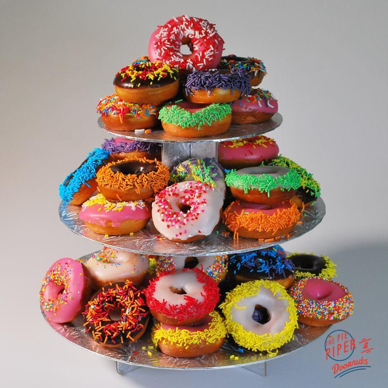 The_Pie_Piper Mighty Mini Donut Tower