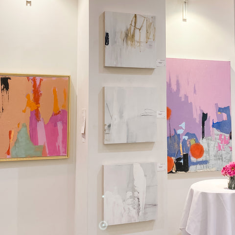 the guest house series by Chris Brandell in situ
