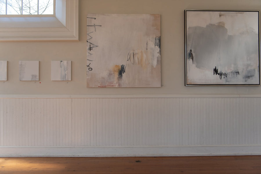 all year, yeah I said it painting by Chris Brandell in situ at Athenaeum