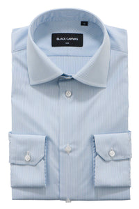 Light Blue Stripe Dress Shirt