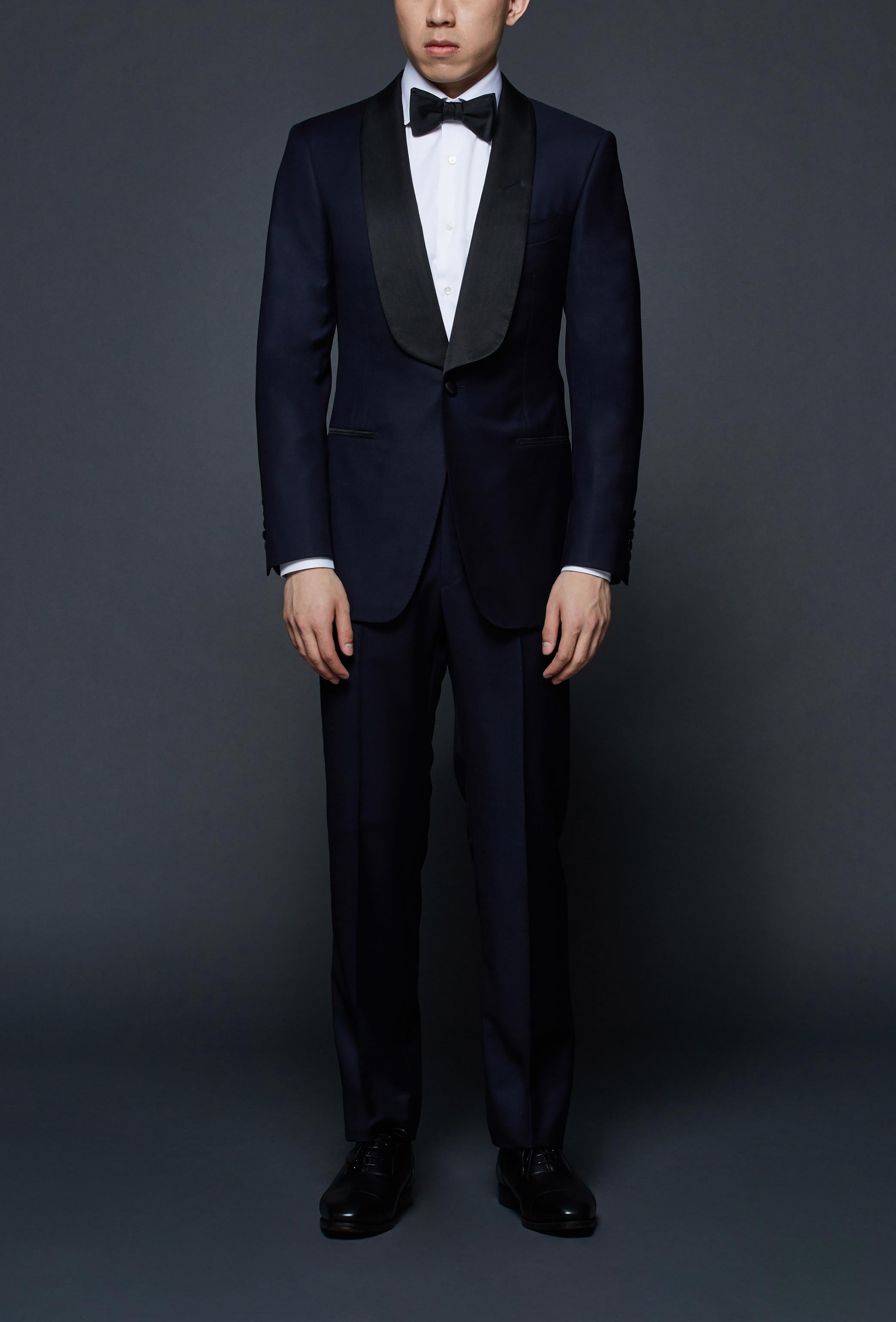 Midnight Navy Shawl Lapel Tuxedo