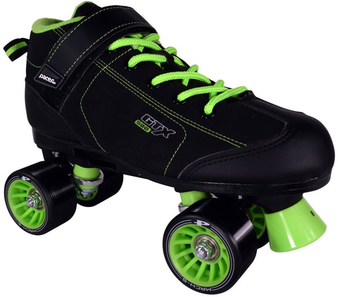 Pacer GTX-500 Lime Green Roller Skates by Pacer - $79.00.