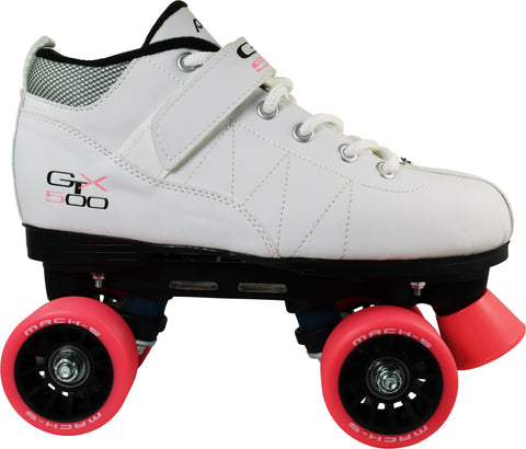 Pacer GTX-500 Mach-5 Roller Skates White by Pacer - $59.00.