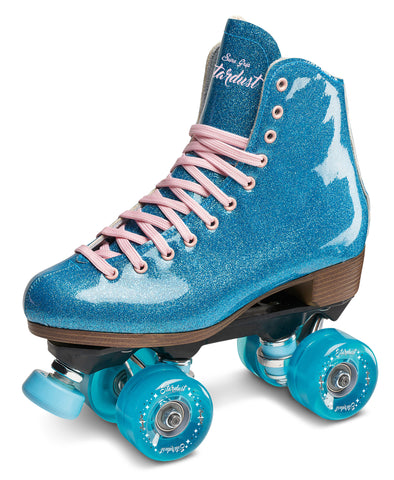 Sure-Grip Stardust Glitter Roller Skates Blue by Sure-Grip Skate Co - $169.00.