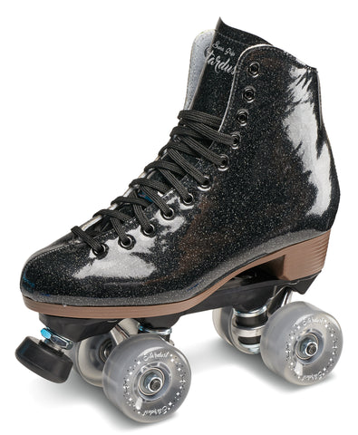 Sure-Grip Stardust Glitter Roller Skates Black by Sure-Grip Skate Co - $169.00.