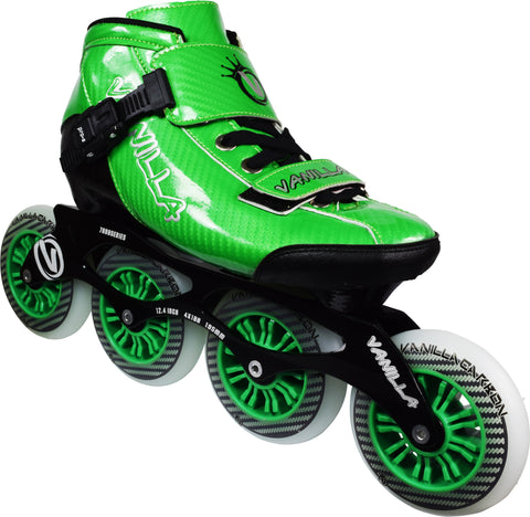 Vanilla Carbon Speed Inline Skates Green by Vanilla - $249.00.