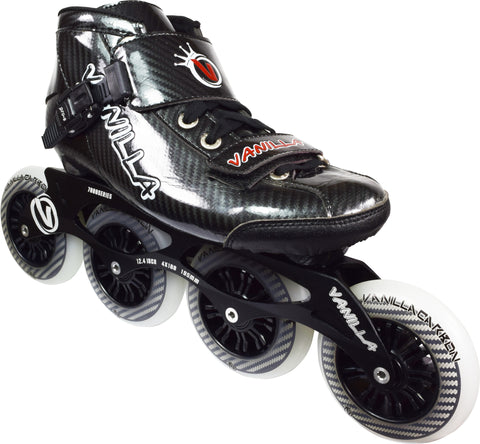 Vanilla Carbon Speed Inline Skates Black by Vanilla - $249.00.