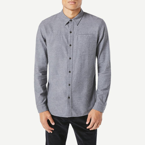 Long Sleeve Slim Utilitarian Shirt - Galvanic.co