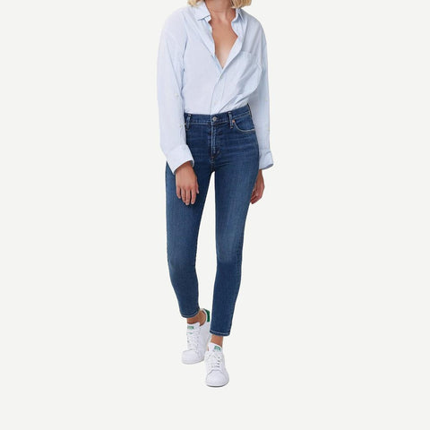 Rocket Ankle Mid-Rise Skinny in Charisma - Galvanic.co