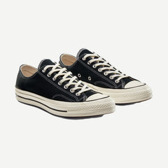 Chuck 70 Low Black, Footwear, Converse, - Galvanic.co