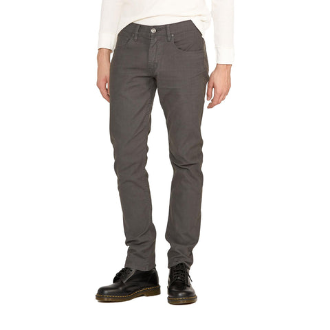 Blake Slim Straight Twill Dark Grey - Galvanic.co