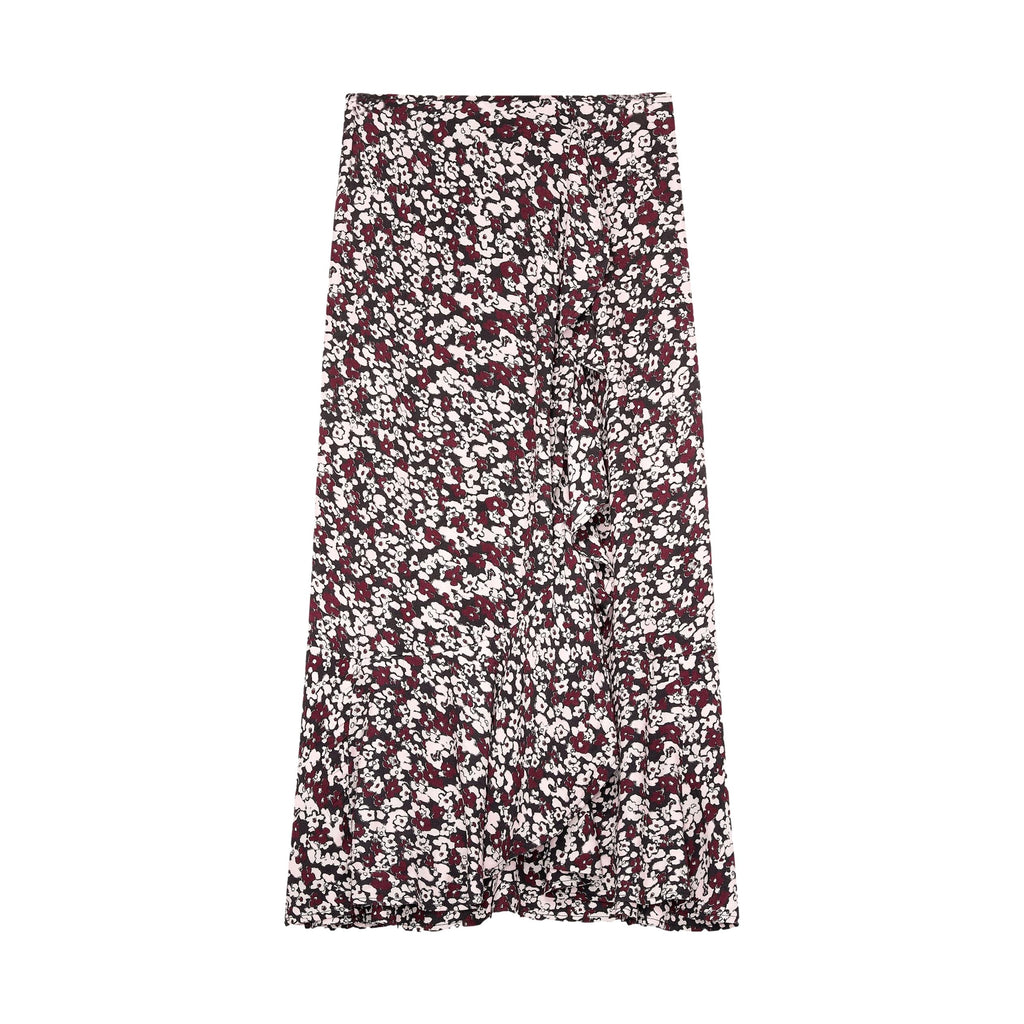 Printed Crepe Skirt - Galvanic.co