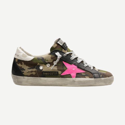 Superstar Camouflage Ripstop Upper Leather Star - Galvanic.co